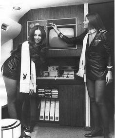Jet Bunnies - Vintage Playboy
