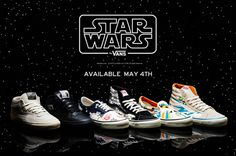 Star Wars Vans! Here's where to get 'em.