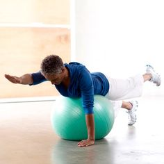 This Four-Way Extension move works the shoulders, back, butt, and hamstrings. #fitness #workout | Health.com