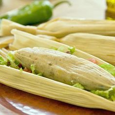 Veggie Tamales  Mexico Themed Christmas Eve