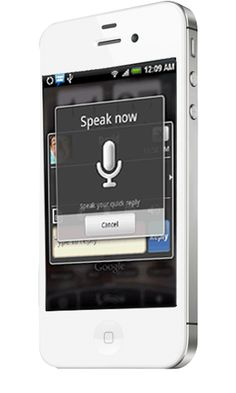Send your voice message to one person or a group of people at one time via Moco Live