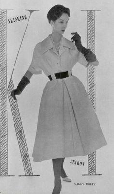 1956 dress Maggy Rouff