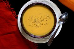 Creamy Vegan Coconut Pumpkin Soup