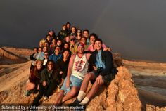 The FLLT group at the Atacama Desert in Chilli.