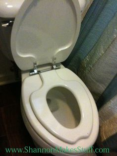 Kids Potty seat built in!!!  Available at Home Depot!