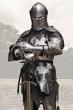 """Medieval armor, my """"Blue Knights"""""""