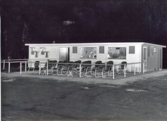 concession stand at the drive in
