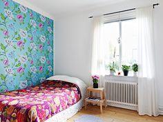Jewel tones bedroom