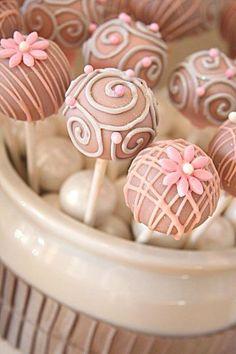 Whatever you want - cake pops! cupcak, birthday, pink cakes, lollipop, food, pink weddings, cake pops, wedding cakes, cakepop