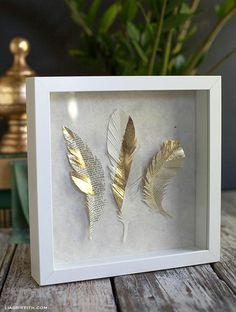 GildedPaperFeathers