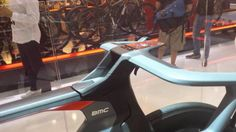 Cockpit of the BMC Impec concept bike at #Eurobike