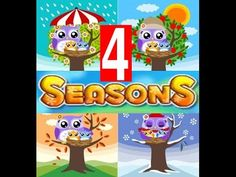 Four Seasons of the Year -Lesson for Kids
