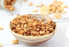 peanuts, granola bars, breakfast, food food, granola recipes