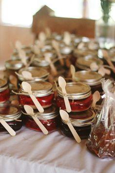 mini pies in jars!
