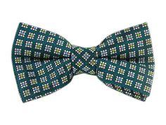 MicroGeo - Green Teal (Bow Ties) - MicroGeo - Green Teal (Bow Ties)