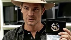 Arrest me, please! Timothy Olyphant