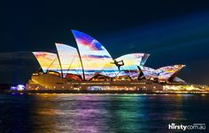 Samsung projects fans photos on the Opera House houses, sidney opera, fans, australia, sydney opera, travel, amaz place, samsung, opera house