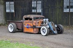Rat rod truck.. ~ how cool is this? rat rods trucks, rat rod trucks, rat truck, ratrods, hotrod