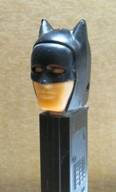 Vintage Batman Pez Dispenser with Black Cowl