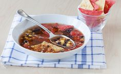 Epicure's El Dorado Speedy Tortilla Soup