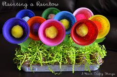 """""""Planting a Rainbow"""" (to go along with book by Lois Ehlert)"""