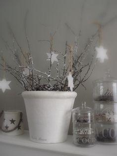 Winter home decoration