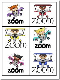 Zoom Game - free cards.