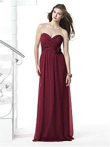 Dessy Collection Style 2832    #red #bridesmaid #dresses