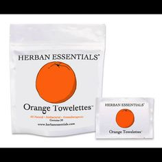 Herban Essentials towelettes, essential oil hand wipes. I do not leave the house, let alone TRAVEL, without someone of these stashed in my bag. They work like crazy, are all -natural and smell AMAZING. Orange is my favorite.