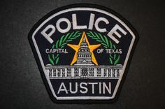 Austin Police Patch, Travis County, Texas