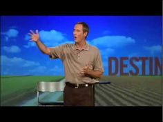Andy Stanley on Destinations (and distractions)