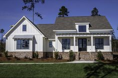 Farmhouse Style House Plan - 3 Beds 2 Baths 2077 Sq/Ft Plan #430-164 - HomePlans.com
