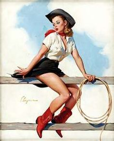 Pin Up Cowgirls <3