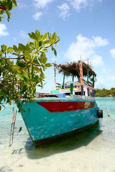 Creeks Boat    Caye Caulker, Belize, Central America