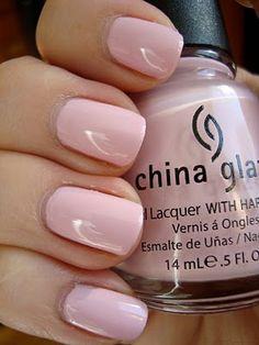 China Glaze - Something Sweet #nails #polish #color #pink