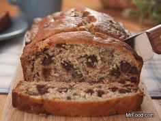 Chocolate Chip Banana Bread - Take that classic banana bread recipe to the next level.
