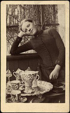 Portrett av Bokken Lasson, ca 1889 by National Library of Norway, via Flickr  Love this photo