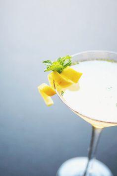 Mint Lemon Drop Martini