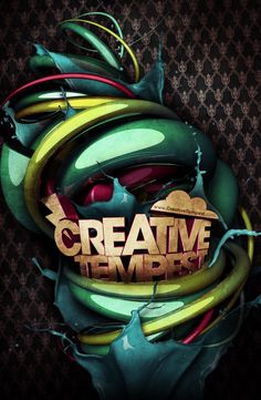 Creative Tempest Poster by Steve Goodin, via Behance