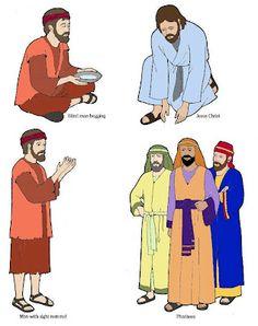 Jesus Christ Heals a Blind Man