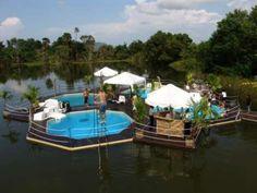 floating pools