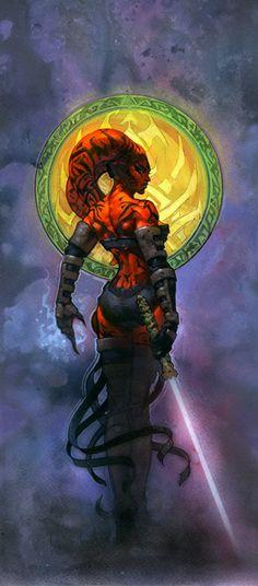 Epic Darth Talon from the Star Wars: Legacy comics!