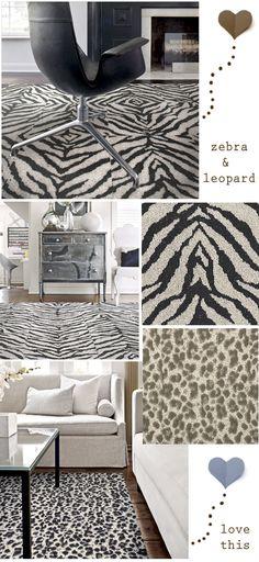 FLOR carpet squares makes animal prints now.