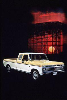 1974 Ford F-100 Truck [vintage] [classic Ford Trucks]