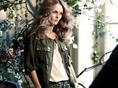 H and M just tapped Johnny Depp's ex to be the new face of its eco-friendly Conscious collection.