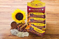 bar raw, lydia organ, crunches, food, lydia cacao, healthi lifestyl, bar crunch, cacao crunch, crunch bar