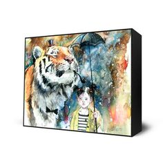 Mr. Tiger Mini Block, $28, now featured on Fab.