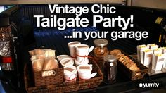 Vintage Chic Tailgate Party - nice tips