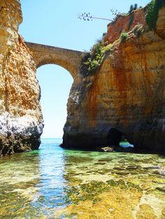 ~Playa de Lagos, Algarve, Portugal~ #portugal #algarve #playadelagos