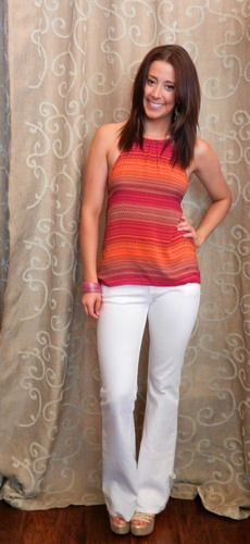 Summer Sunset Top. Pair it with a blazer for work or chilly nights.  shttps://www.facebook.com/apricotlanezonarosa